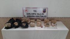Şanlıurfa'da toprağa gömülü 97 kilo patlayıcı bulundu