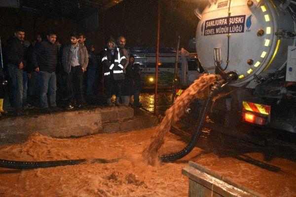 Siverek'te sel: 30 büyükbaş hayvan telef oldu
