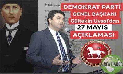 Gültekin UYSAL 27 Mayıs