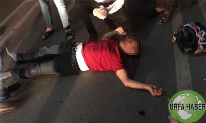 Şanlıurfa'da korkunç kaza!  Ağır yaralandı