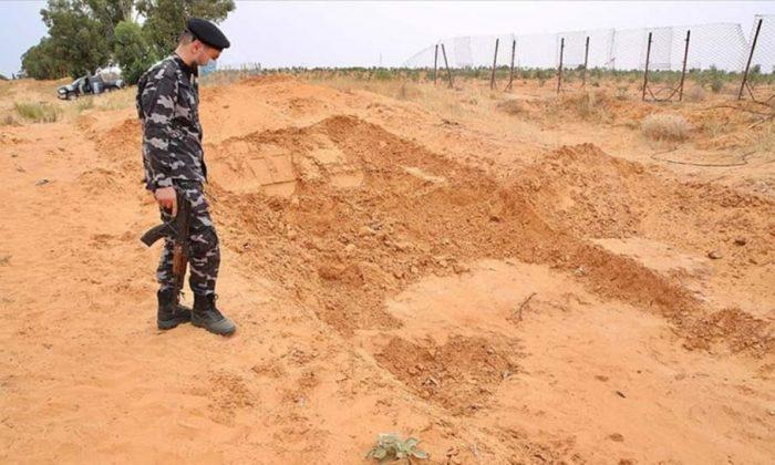 Toplu mezar görüntüleri harekete geçirdi! Libya'da çok yönlü operasyon…
